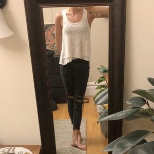 Free People Tops - Free People XS beaded tank top